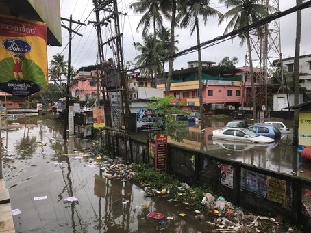 Playing amid a Natural Disaster