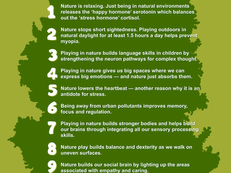 Nature Play - the key to sustainable child development