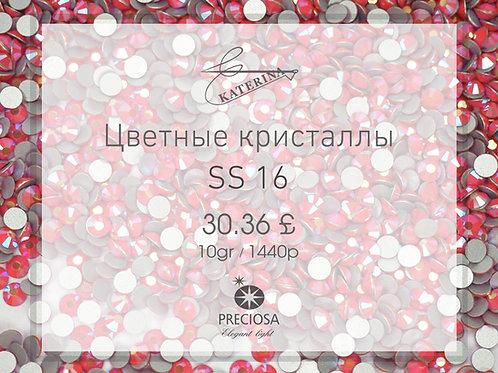 Цветные кристаллы PRECIOSA SS16 (10гросс = 1440шт)