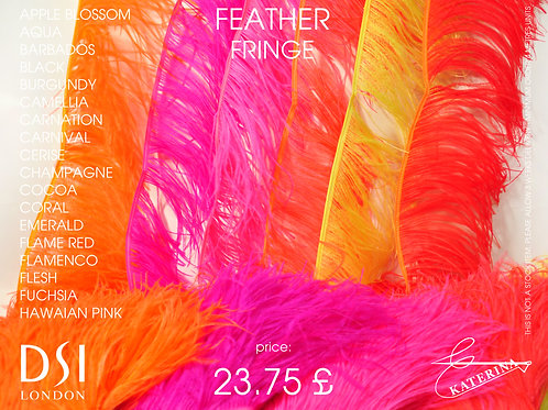 Френч из страусиных перьев (Feather fringe)