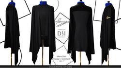 Черная рубашка латина 2017