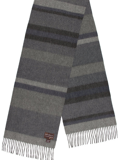 Style #07 Cashmere Grey Striped