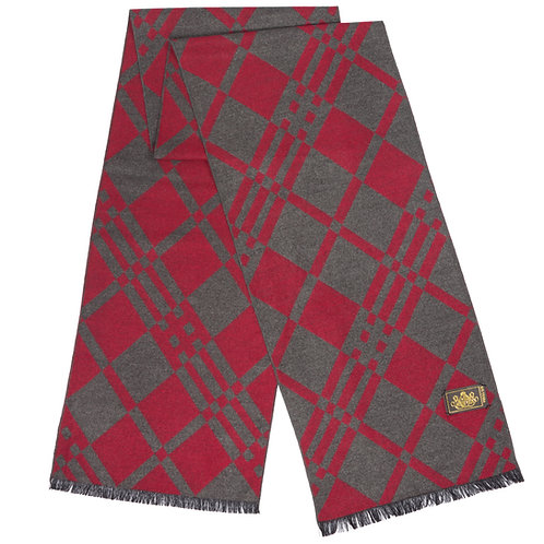 Style# 219 Modal Burgundy and Red Check