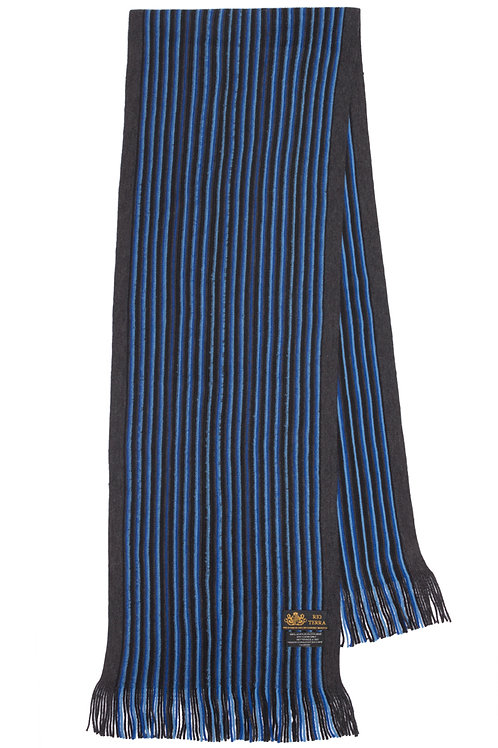 Style# 239 Royal Blue Thin Striped Scarf
