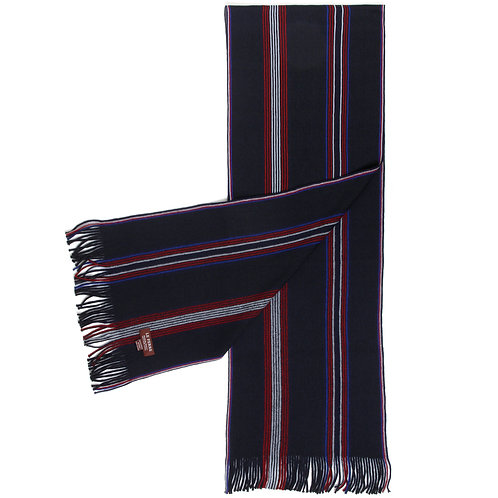 Wool Red & Blue Striped