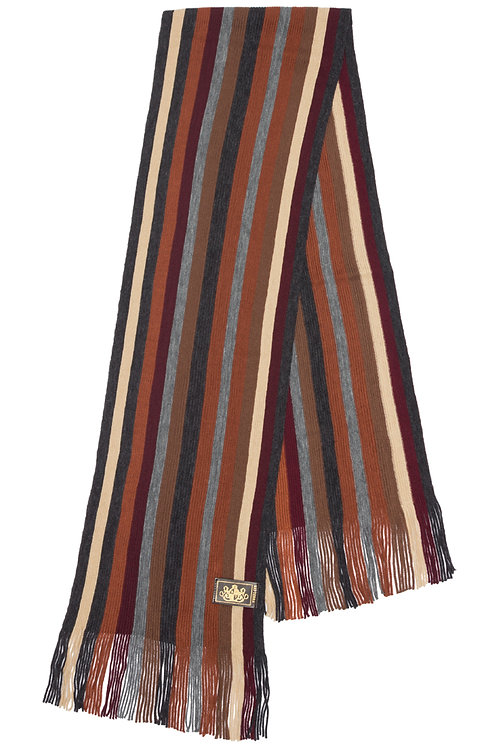 Style# 231 Earth Striped Scarf