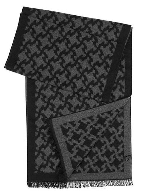 Style #55 Black Grey Square Design