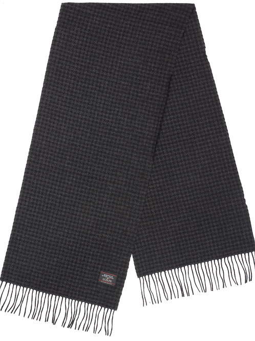 Style#4 Baby Wool Houndstooth Black & Grey