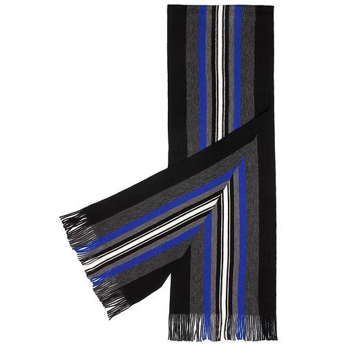 Wool Royal Blue Striped