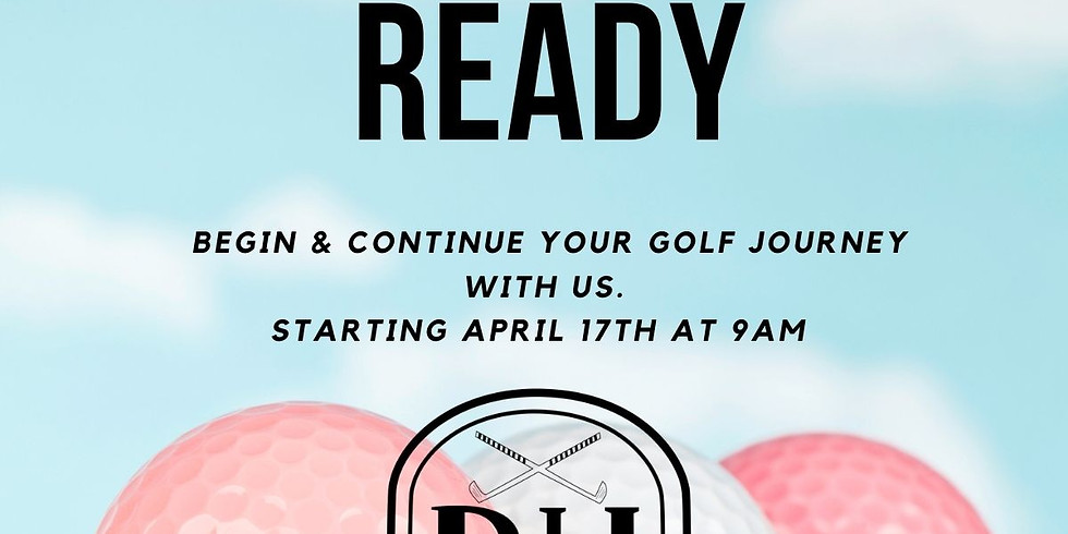 Get Golf Ready at BHCC SOLD OUT