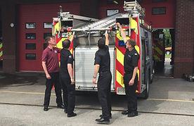 Team Manual Handling of Ladder