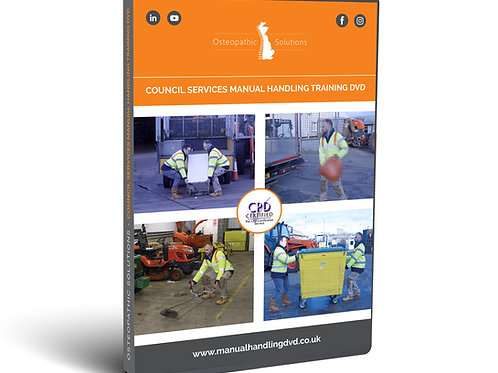 Council Services Manual Handling Training USB