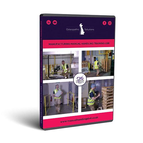 Manufacturing Industry Manual Handling Training USB