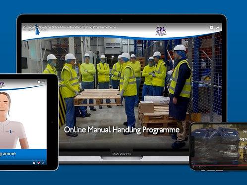 Online Manual Handling Training Programme