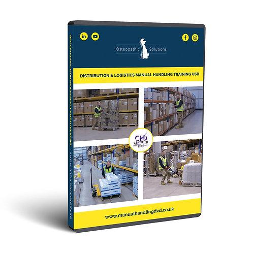 Distribution & Logistics Manual Handling Training USB