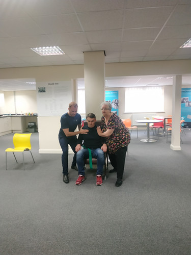 Assistance Sit to Stand using Handling B