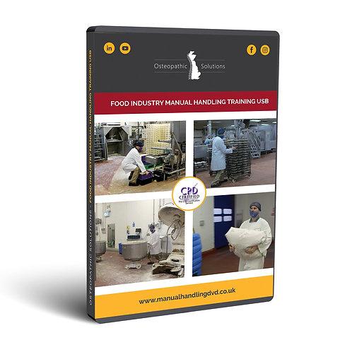 Food Industry Manual Handling Training USB
