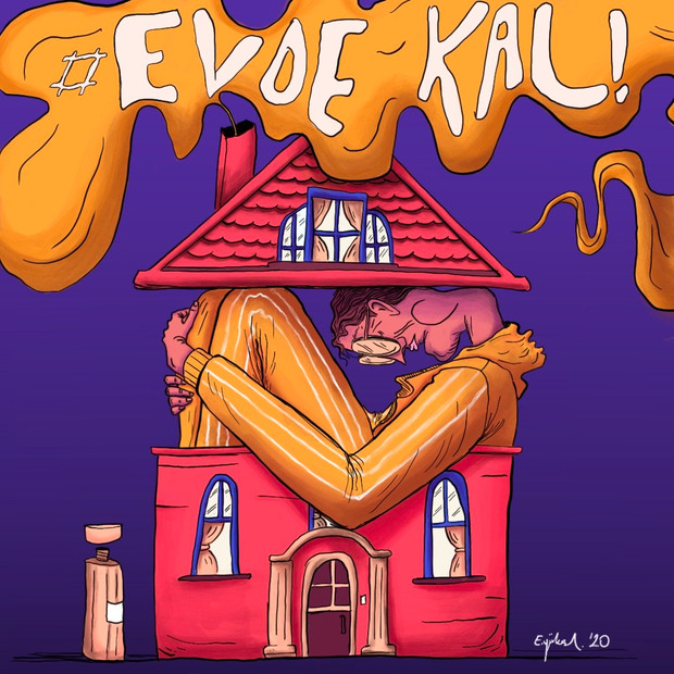 Evde Kal (stay home)