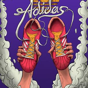 Kişisel illüstrasyon çalışması 2020-ADİDASiçin yarattığım resimler-Ayakkabı serisi 1.çalışma-Personal illustration work 2020-Illustrations I created for ADIDAS-Shoes series 1.work