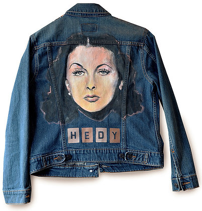 HEDY LAMARR (denim)