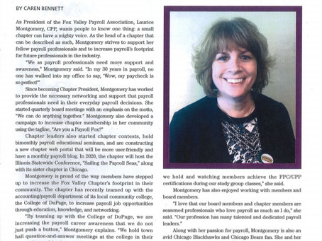 Our very own FVPA chapter president was featured in the November Paytech Magazine! Check it out!