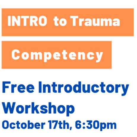 Trauma Competency Training Intro 6:30pm IST Oct, 17th, 2020