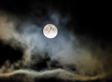 Sweet, full moon night