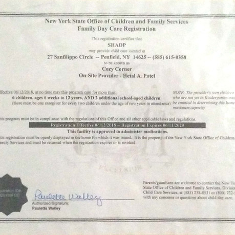 NYS License