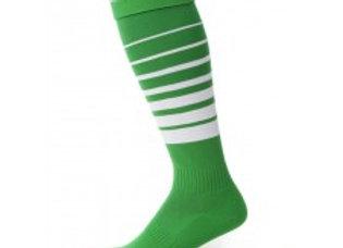 O-strømpegrønn/hvit