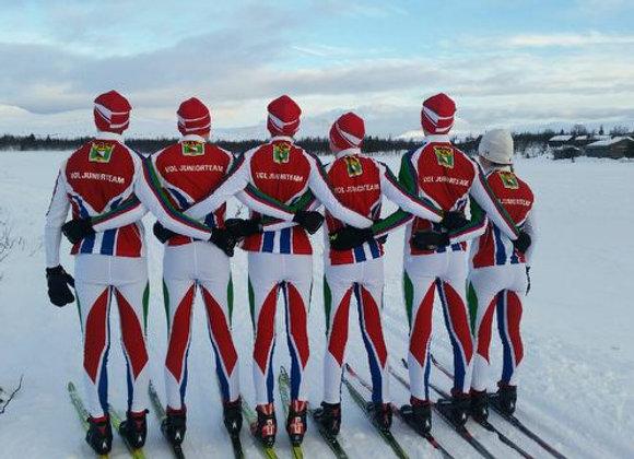 Klubbtøy for langrenn, skiskyting og ski orientering