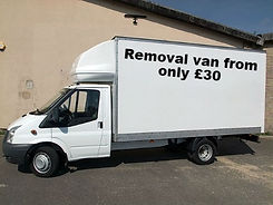 man and van blaydon, man with van blaydon