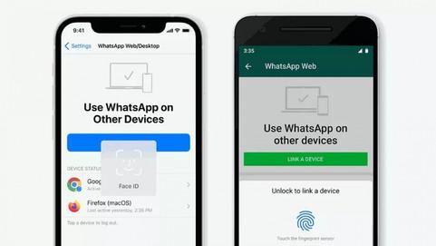 Для запуска WhatsApp на ПК и в браузере теперь потребуется биометрия