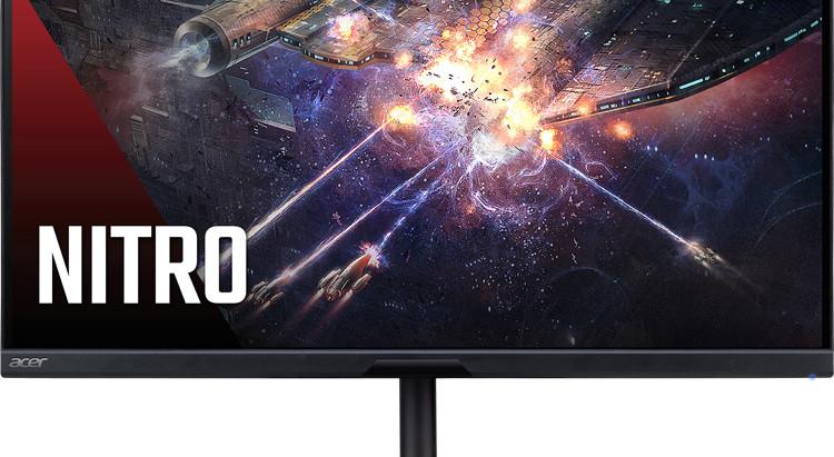 В России появился игровой 170-Гц монитор Acer Nitro XV272UKV по цене 31 990 рублей