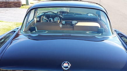 Rear hood and window