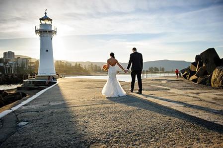 Wollongong Old Lighthouse wedding