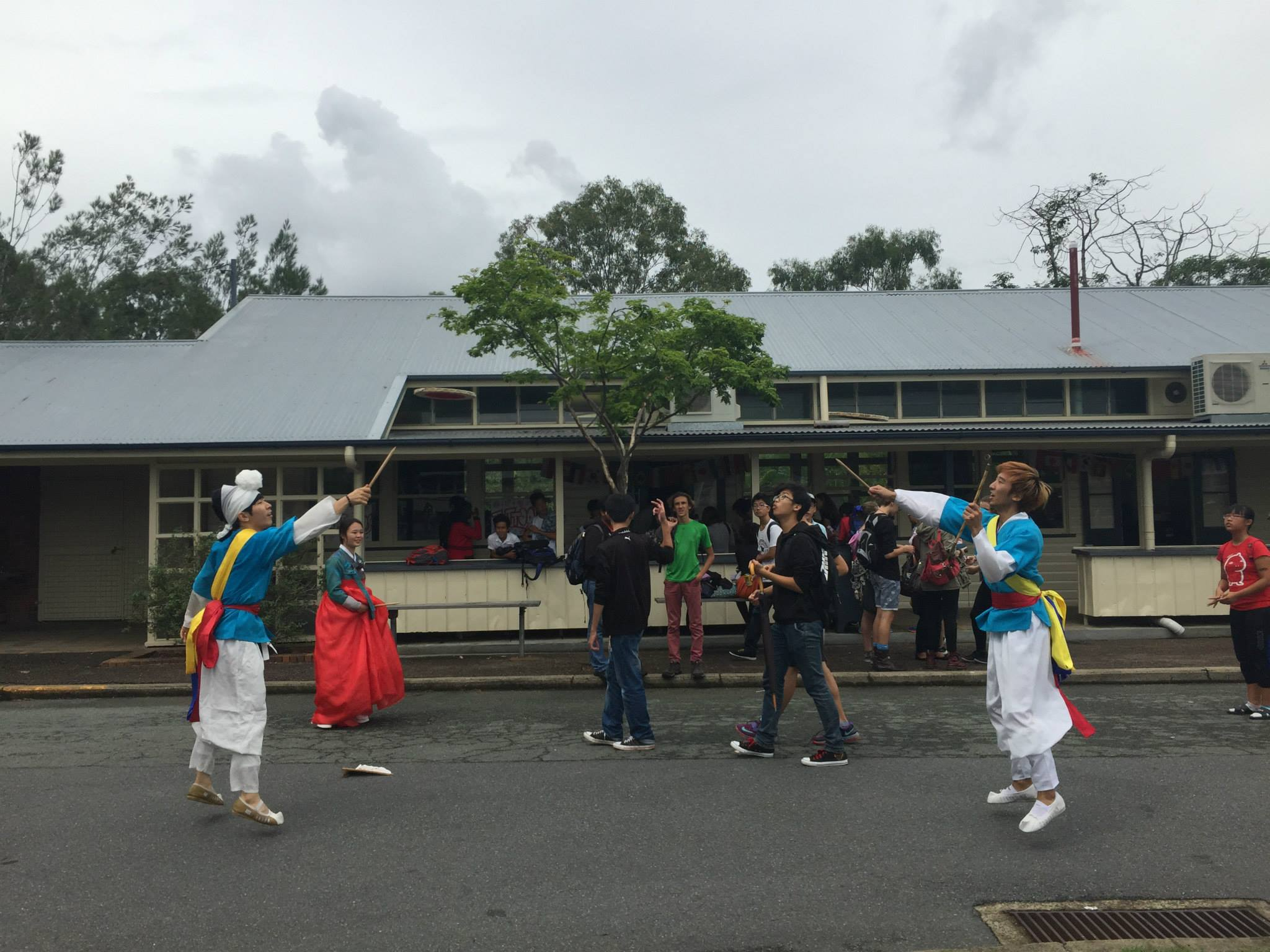 2015_UN Day at Indooroopilly SHS