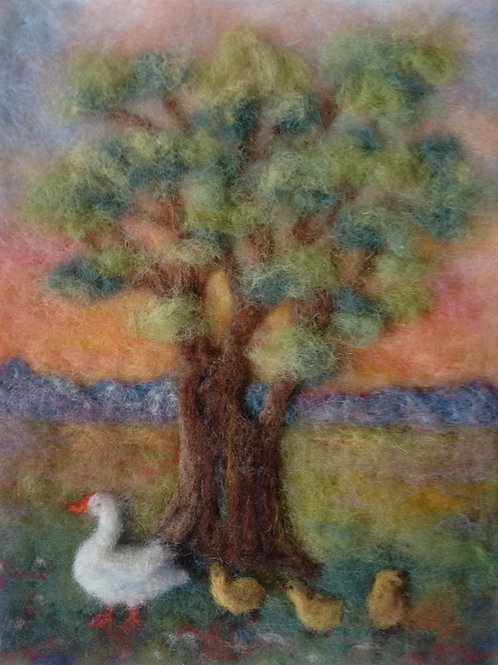 Tree with Goose