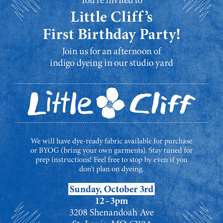 Little Cliff's First Birthday Party