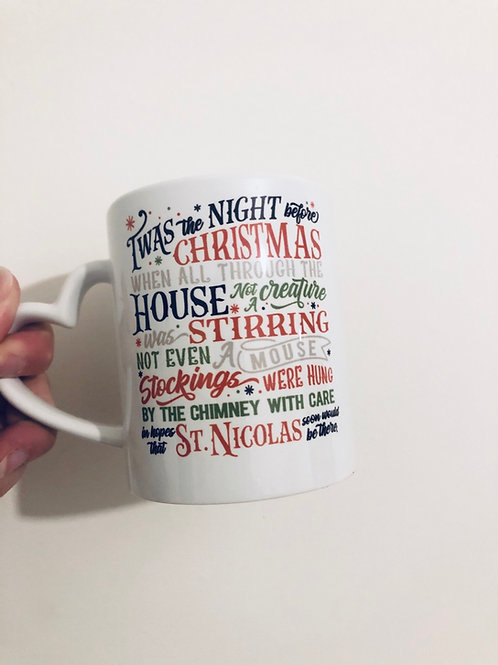 Night Before Christmas Mug