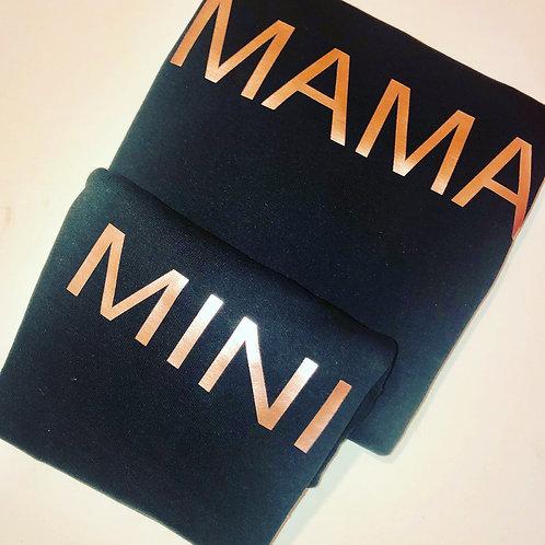 Mama and Mini twinning set