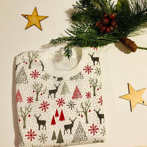 Reindeer print sweatshirt