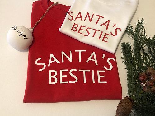 Santa's Bestie T-Shirt