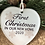Thumbnail: First Christmas Personalised Acrylic Heart Decoration