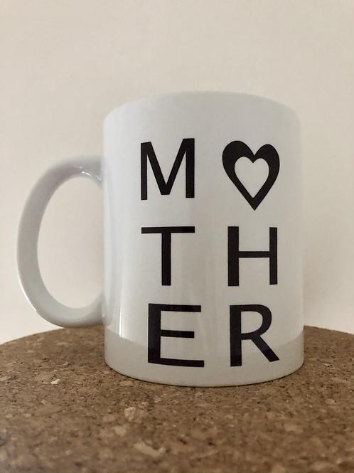 Monochrome Mother Mug