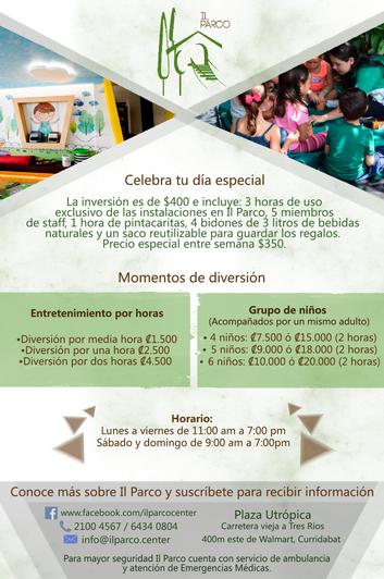 Flyer Promocional Il Parco