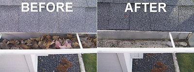 Gutter Cleaning Photo
