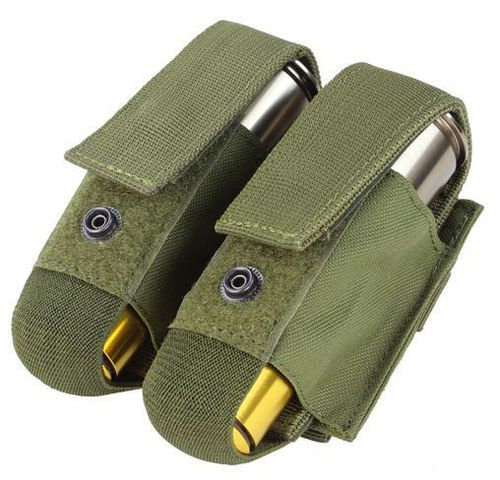 CONDOR 40 mm DOUBLE GRENADE POUCH OD GREEN