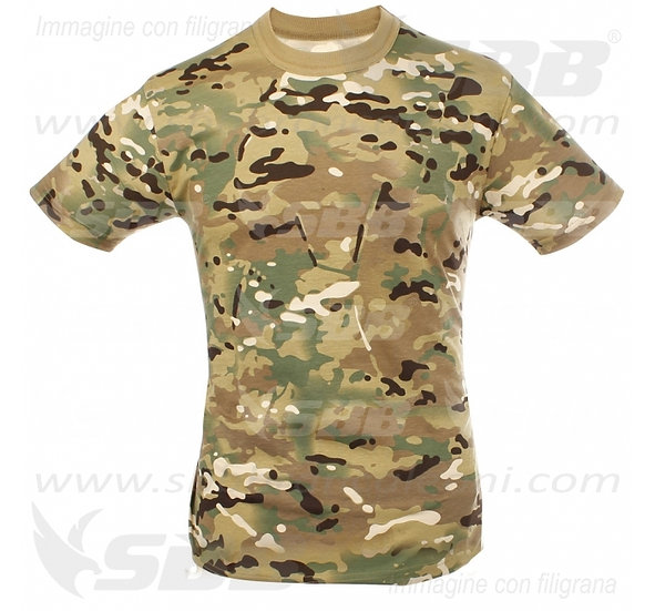 SBB T-SHIRT US MULTICAM TG.L