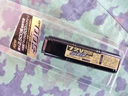batteria nimh 7.2x450  per pistole elettriche cyma