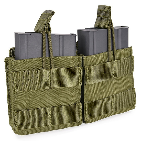 CONDOR DOUBLE OPEN TOP M14 MAG POUCH OD MA24-001